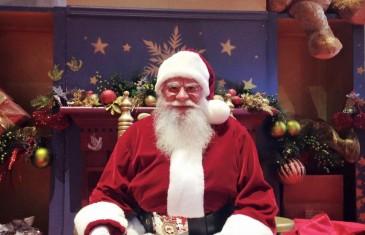 Le VRAI père Noël au complexe Desjardins @ Montréal