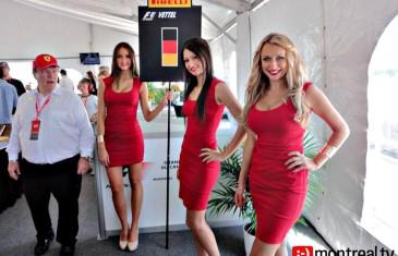 Marcel Aubut dans le paddock Ferrari