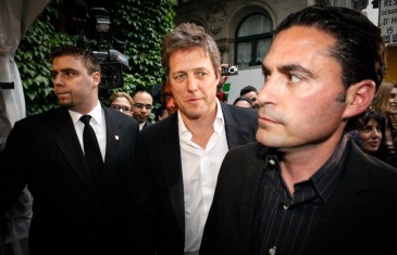 Hugh Grant au party Ferrari à Montréal