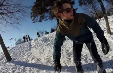 Barbegazi: sports d'hiver extrême en février