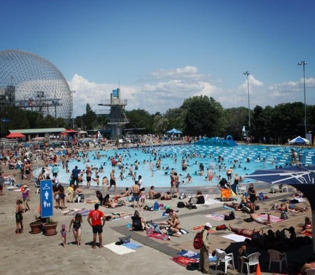 Parc Jean-Drapeau ouvre la première piscine extérieure de l'été ce samedi