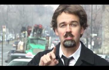 Guy Nantel parodie le maire du Plateau Luc Ferrandez