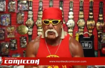 Hulk Hogan à Montréal