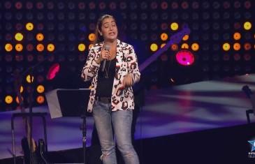 Mariana Mazza, nommée Révélation Juste pour rire 2014
