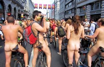 Nu à vélo :  le Cyclo-nu est de retour cet été