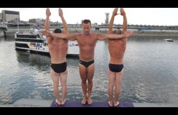 Party Yoga pour le Jour de l'An au Bota Bota