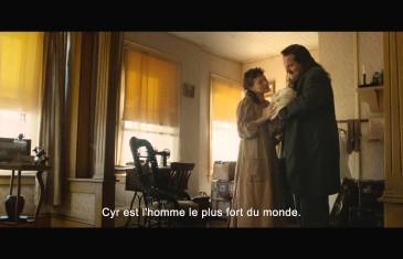 Première colossale pour le film Louis Cyr