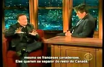Robin Williams s'exprimait bien en français