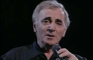 Spectacle de Charles Aznavour @ Montréal