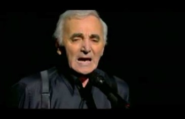 Spectacles de Charles Aznavour @ Montréal