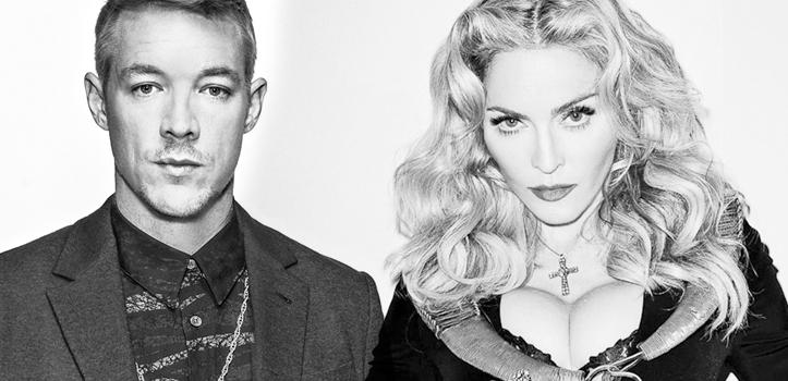 Diplo en première partie de Madonna