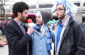 Alex Fredo au match de l'Impact de Montréal