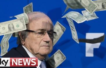 Liasse de cash pour Sepp Blatter
