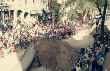 Compétition Mud Rocker sur Saint-Laurent