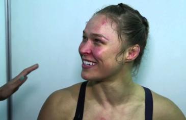 Entrevue Ronda Rousey après combat vs Correia
