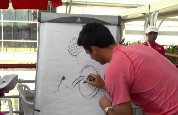 Fais-moi un dessin à la Coupe Rogers