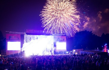 Feux d'artifice @ Osheaga