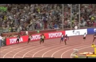 Usain Bolt remporte le 200 mètres au Championnat du monde