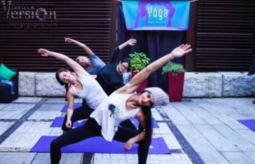 Du yoga dans un restaurant à Montréal