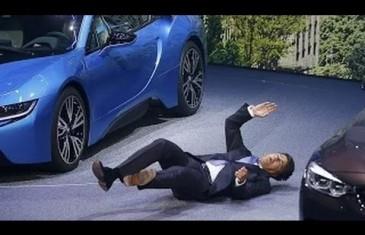 Le président de BMW s'effondre