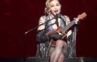 Madonna chante La vie en rose