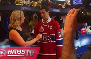 Max Pacioretty nouveau capitaine du Canadien