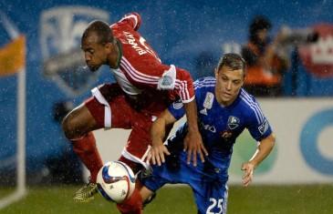 Victoire de l'Impact sous la pluie au Stade Saputo