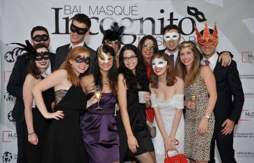 Le bal masqué Incognito au Studio St-Martin