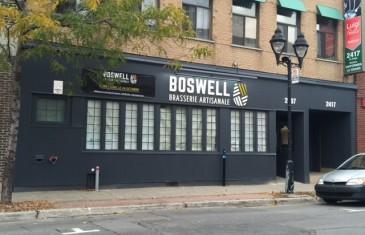 Boswell: la nouvelle brasserie artisanale sur le Plateau