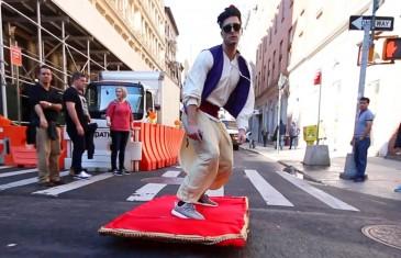 Aladin et le tapis magique à New York