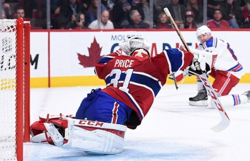 Carey Price blanchit les Rangers au Centre Bell