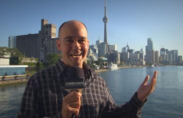 Guy Nantel parle politique à Toronto