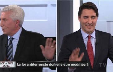 Trudeau appelle Duceppe mon amour