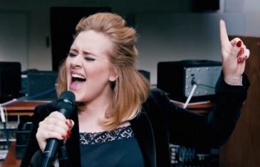 Adele Live en studio