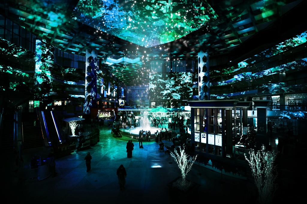 Le Complexe Desjardins présente un spectacle de Noël multimédia et c'est gratuit