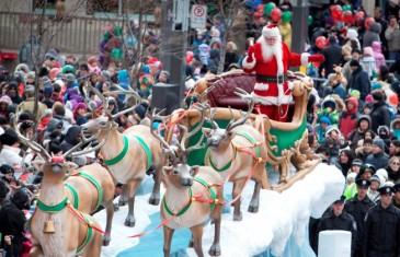 Défilé du Père Noël samedi à Montréal