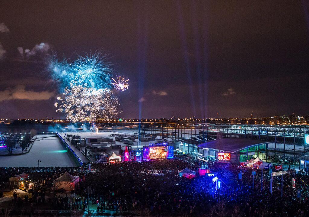 Partys du Jour de l'An 2016 à Montréal