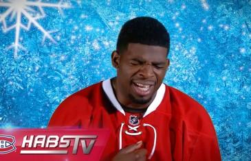 Les joueurs des Canadiens chantent Let It Go