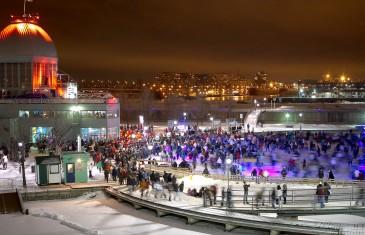 Ouverture de la patinoire du Vieux-Port de Montréal