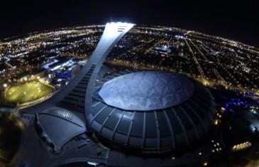 Party du Jour de l'An au sommet du Stade Olympique