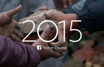 Top 10 événements de l'année 2015 selon Facebook