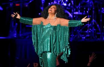 Diana Ross en spectacle à Montréal
