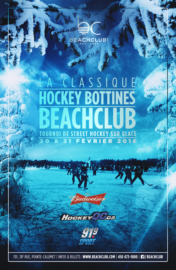 Le Beachclub présente le Iceberg Winter Festival
