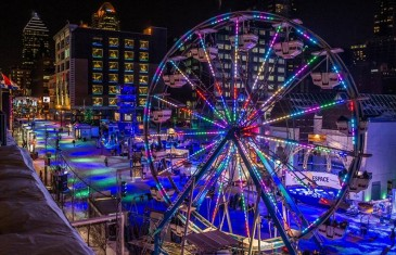 Le centre-ville sera festif et gratuit lors de Montréal en Lumière