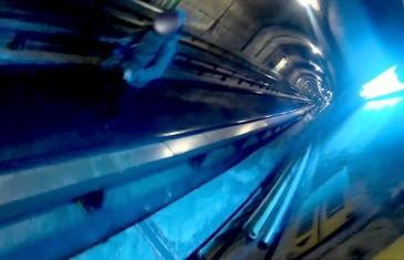 Le SPVM enquête sur cette vidéo clandestine du métro de Montréal