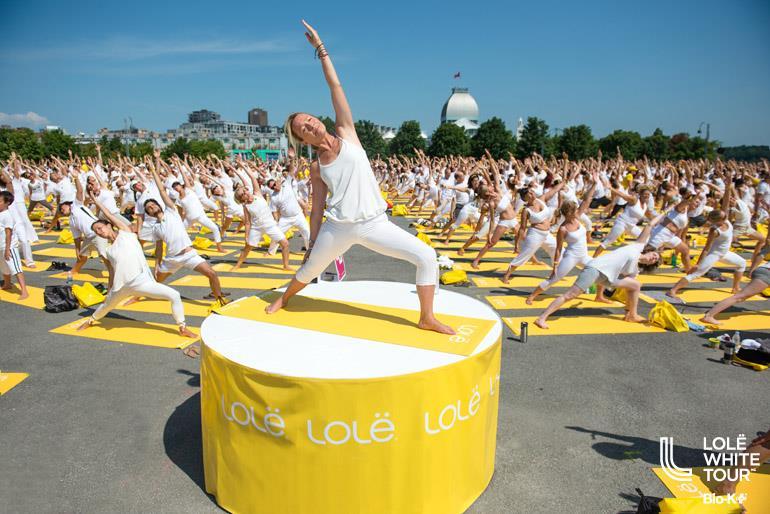 Le Lolë White Tour 2016 aura lieu le 18 août à Montréal