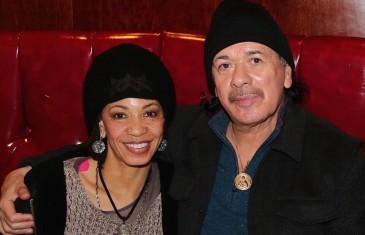 Carlos Santana passe du bon temps à Montréal