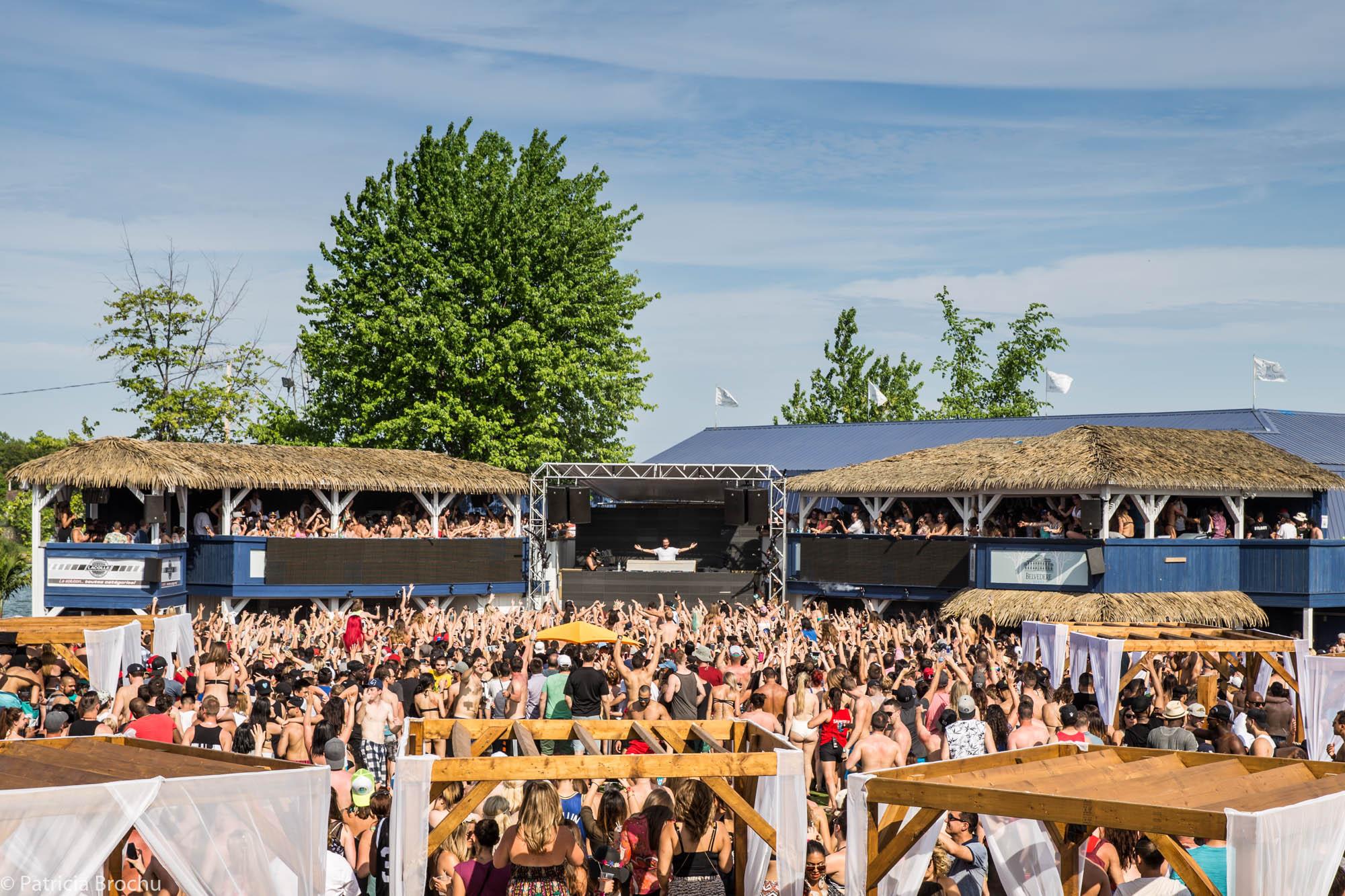 David Guetta au Beachclub   photos
