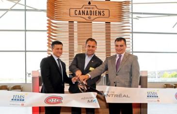 Un nouveau restaurant des Canadiens à l'aéroport Montréal-Trudeau