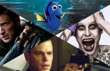 Top 5 films de l'été 2016